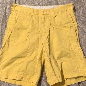 Yellow Polo by Ralph Lauren Shorts. Size 34.